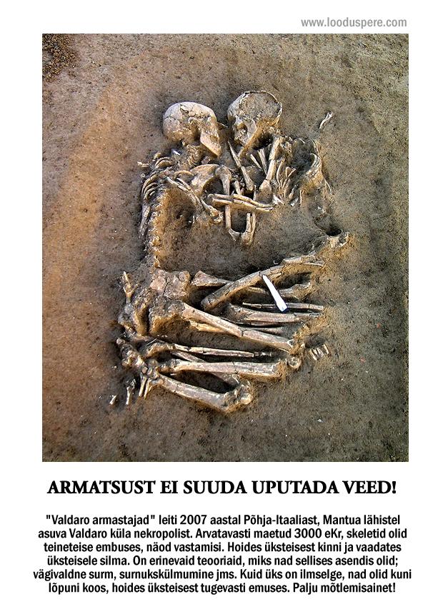 valdaro armastajad skelett igavene armastus
